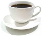 De koffie staat bij ons klaar