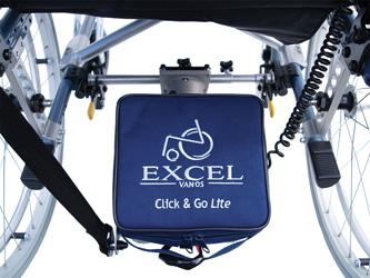 rolstoel duwhulp Click 'n Go