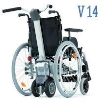 rolstoel duwhulp Viamobil eco V14