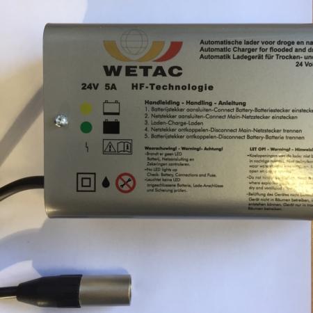 acculader 24 volt 5 ampere