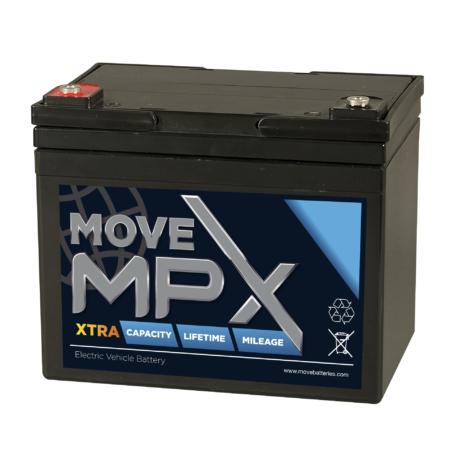 mpx34 scootmobiel accu